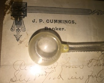 Antique Baby Medicine Spoon