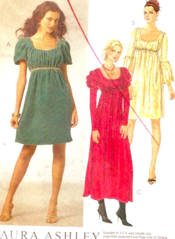 laura ashley dress modern medieval boho peasant style by