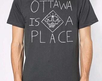 Ottawa is a Place - Men's T-Shirt
