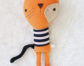 Darcy the Kitty Cat, softie toy plush doll