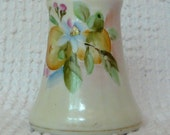 Vintage Hand Painted Porcelain Shaker or Small Flower Holder - by Nippon - Gorgeous