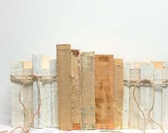 Urban Texture, 15 books, Trending Home Decor, Whitewash Books, Distressed Home Decor, Uncovered Books, Rustic Book Decor, Trend, Loft Living