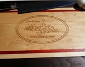 Personalized Cutting Board - Love - Gift Idea - Wedding, Anniversary - FREE ENGRAVING