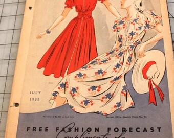1939 Simplicity Fashions Catalogue