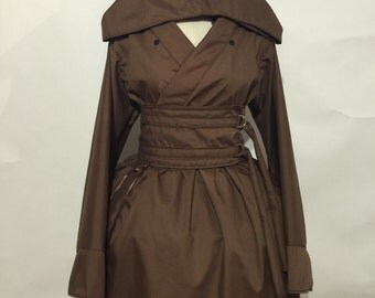 Obi Wan Kenobi Hooded Kimono Dress Set