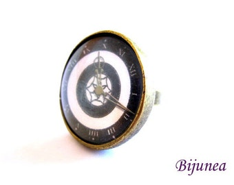 Watch ring - Romantic Watch ring - Vintage Watch ring - Brass Watch ring - Watch ring r774