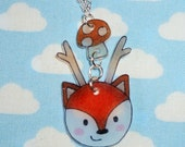 Fun Foxalope Necklace