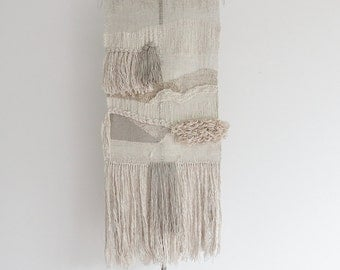 handwoven wall hanging tapestry weaving | no. 052215