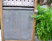 "WASHBOARD CABINET-REcycled RARE All MeTaL""Our BesT"" Washboard-PaTenTeD Dec.21,1897-to Wall Cabinet-A Great MeDicine CaBiNeT / Spice Cupboard"