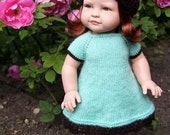 """Summer Mint Outfit for Paola Reina and other 15"""" Dolls"""