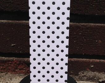 Letterpress Bookmark - Dots Pattern