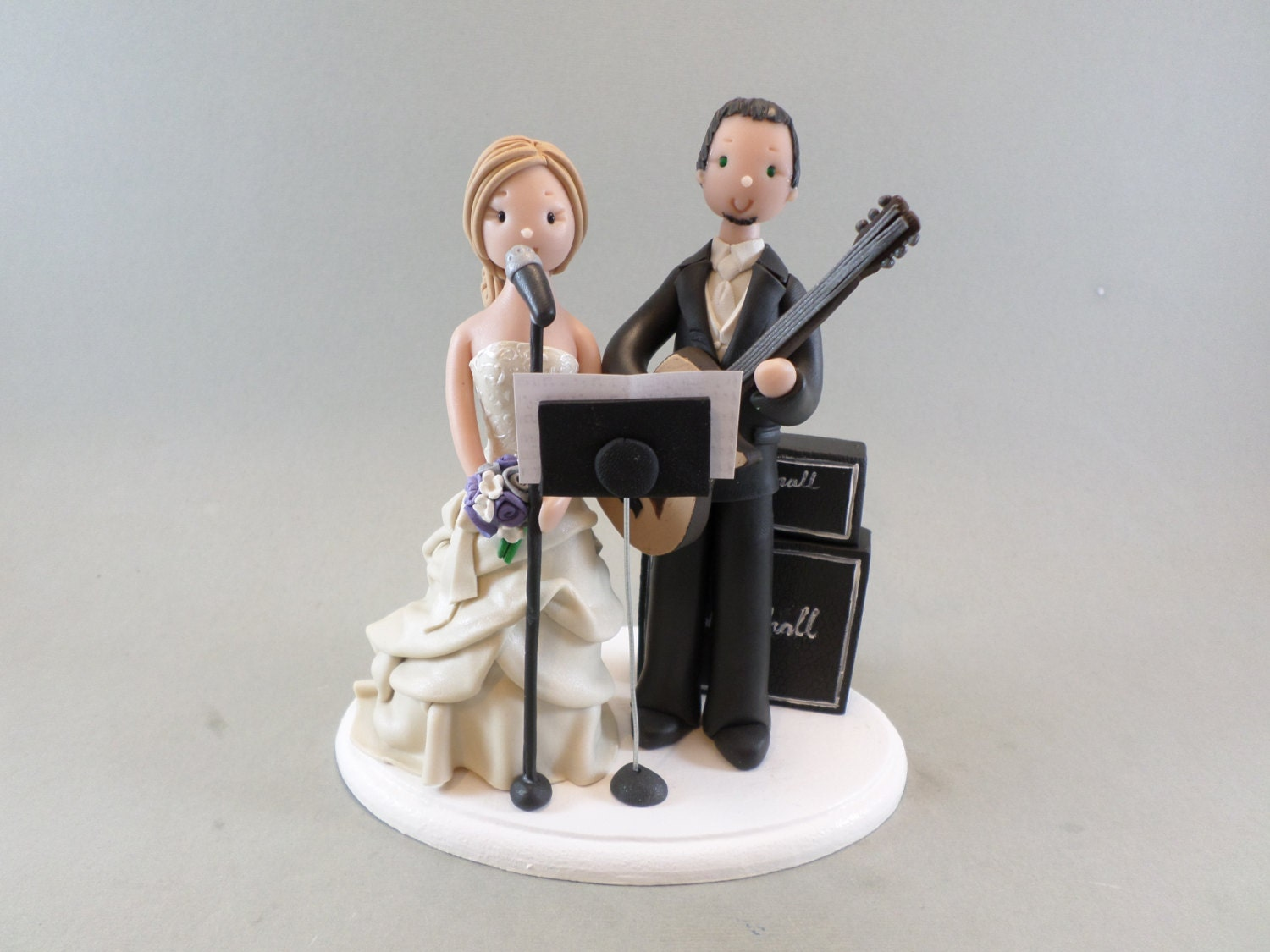 musical wedding cake toppers amp groom customized theme wedding cake topper 17665