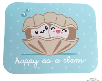 Happy as a Clam Card for love, anniversary, any occasion