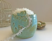Bird Yarn Bowl for Knitting and Crochet - Yarn Storage - Handmade Pottery