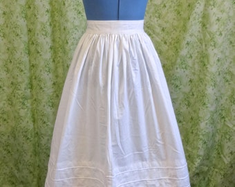 Civil War Corded Petticoat Upon Request For Civil War Era or Romantic Era Upon Request