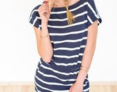 Dress Baloux blue nautical