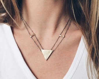 Heron's Triangle Necklace