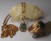 Ruby Zoisite ring, Ruby Zoisite pendant,healing stones, chakra rings, crystal healing,gemstone rings