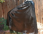 Heavy Distressed Satin ALCHEMISTS Cloak with Vintage Buttons~Magician~Pagan~Witch~Wicca~Ritual~Druid