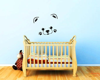 Ultra Cute Pomeranian Puppy Wall Decal