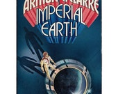 IMPERIAL EARTH 1976 paperback Arthur C Clarke science fiction Stanislaw Fernandes art 2276 America quincentennial cloning - Free US shipping