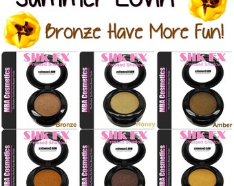 Pressed Mineral Eyeshadow Collection-Bronze Have More Fun
