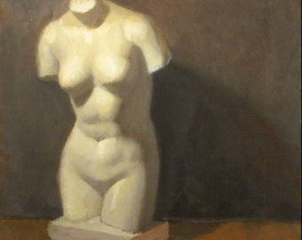 Venus Cast study - original oil painting (SL 62)