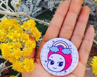 Kawaii Baby Pin, Cute Pins, Kawaii Pins, Gift Pins, Fashion Pins, Cute Badges, Kawaii Badges,Fashion Badge,Cute Button,Kawaii Button