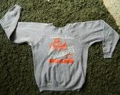 1980s Chicago Bears NFL vintage sweatshirt - blue size medium