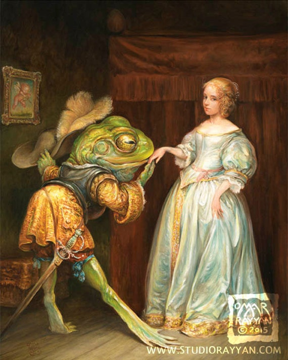 The Courtship (print)