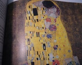 Gustav Klimt  - Beautiful art book - 1987 - Gift for Art lovers - vintage book - Vienna school of art