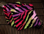 Medium Flankie - Multi-Color Zebra Flannel Handkerchiefs - Set of 3