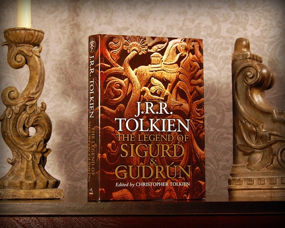 Hollow Book Safe (J.R.R. Tolkien's The Legend of Sigurd and Gudrún)