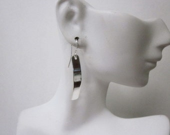 Adorable Smooth Rectangle Earrings