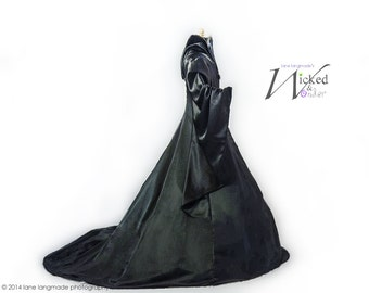 Maleficent Costume Dress Adult, Maleficent Dress, Descendants, Mal, Maleficent cosplay, Disney Villain Halloween Costume, black dress