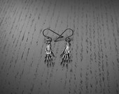 Rat Paw Earrings - Sterling silver