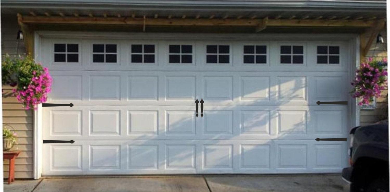 Garage Door Hinges And Handles Vinyl Decals Garage Vinyl
