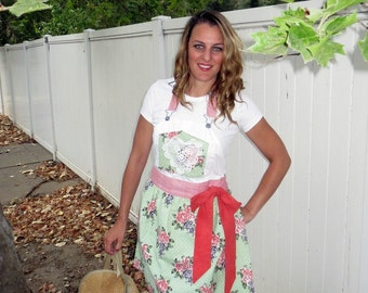 Upcycled Apron Recycled Apron Denim Craft Apron Recycled Jean Apron