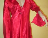 Vintage Red Nightie by Fredricks of Hollywood. Red Nightgown.