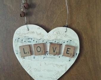 Ivory LOVE Heart