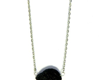 SALE Lava Rock Necklace Black Stone Necklace Trending Jewelry Trending Necklace Lava Bead Teen Gifts SALE Jewelry R22