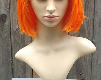 Leeloo Fifth Element Women's Couture Wig