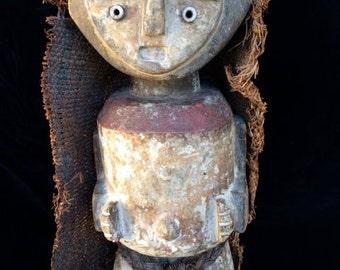 Ntomba, Gabon, Mbete Culture, Ambete African sculpture, Reliquary