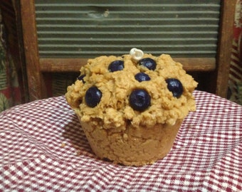 Blueberry Muffin Candle - Handmade