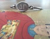 Vintage Sterling Silver Delta Gamma Bracelet
