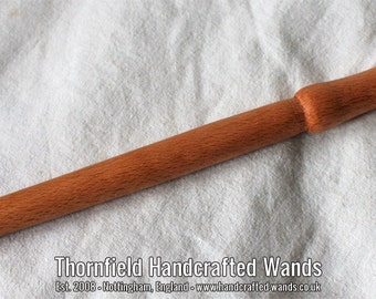 Cherry Turned Wand 01