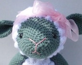 Gwen the Lamb Crocheted Toy