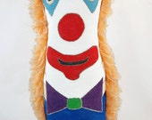 Clown Circus Punk Art Doll - Bent Whims Studio