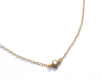 Solana Drop Necklace