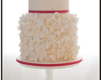 Custom Wedding Cake Topper Personalized Initial with choice of font and color and a FREE base for display